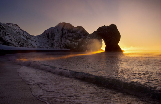 """Durdle Door. Light, colour and """"actually being there"""" in spades; but not much opportunity for composition or anything else."""