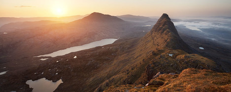 Alex Nail, suilven sunrise