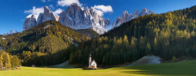 Jon Baker ~ Church in Val di Funes