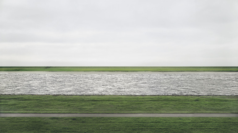 The Rheine - Andreas Gursky