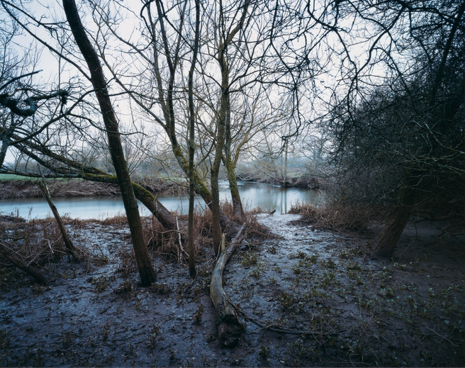 River Culm at Silverton Mill, 22 January 2011 from the book 'The River - Winter'