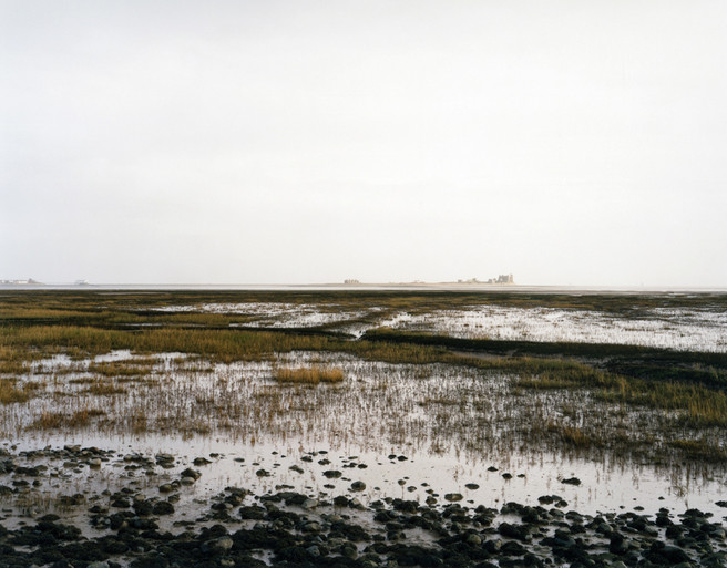 Peil Island from Walney Island, Morecombe Bay from the series 'Clouds descending'