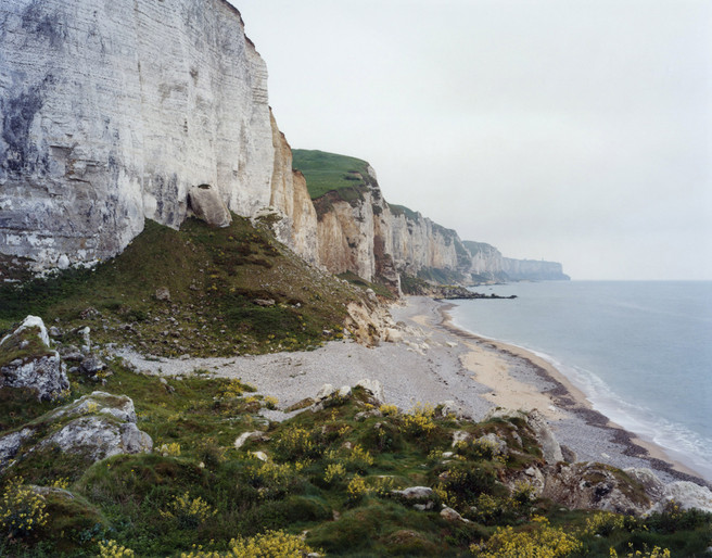 Senneville-sur-Fecamp (looking south) 2008 from the series 'Rockfalls, Normandy'