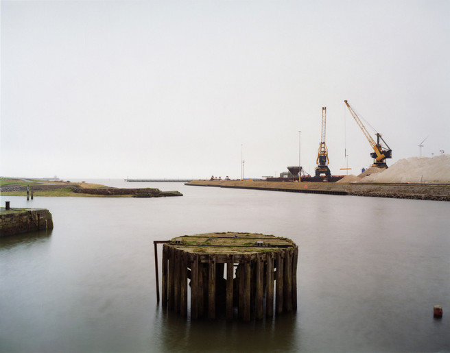 Workington Harbour from the series 'Clouds descending'