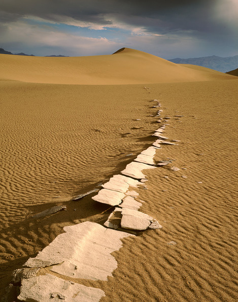 """Death Valley…or my preferred title """"Lake ghost"""" - © David Ward"""