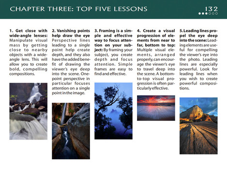 Visual Flow - chapter 3 five lessons