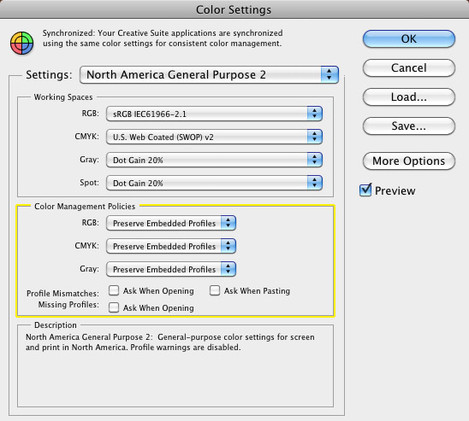 Photoshop colour settings - Inverting Negatives Refined