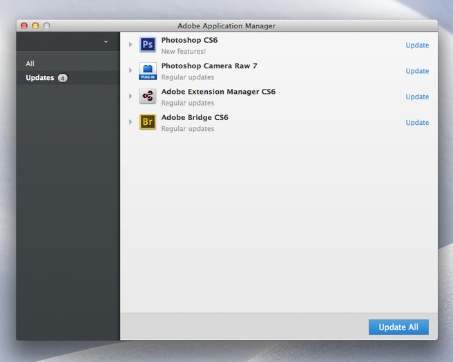 Is Adobe Creative Cloud Bad For Photographers  - application manager
