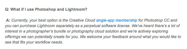Is Adobe Creative Cloud Bad For Photographers  - photoshop and lightroom
