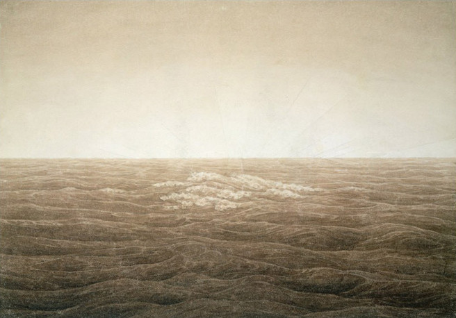 Sunrise at Sea, 1828 - Caspar David Friedrich
