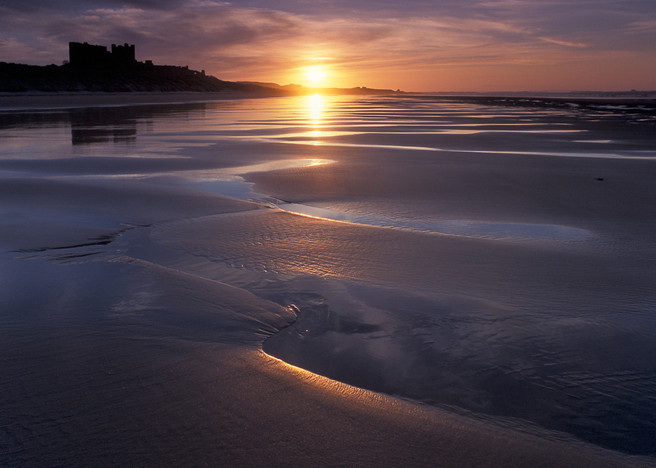 Dave Parry - Bamburgh Reflections