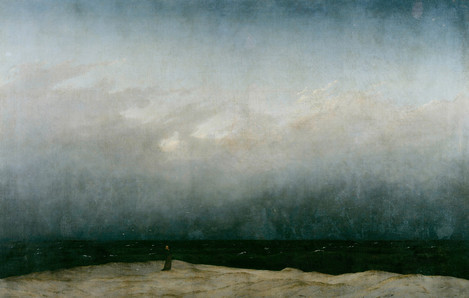 Monk by the Sea, 1808 - Caspar David Friedrich