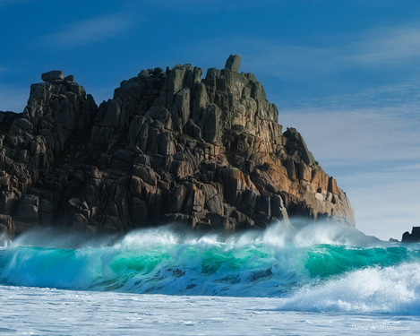 Logan Rock from Porthcurno-small