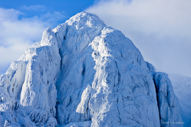 The crown of Bauchaille Etive Mor-small