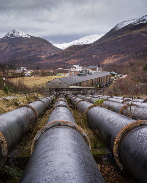 Kinlochleven Pipes
