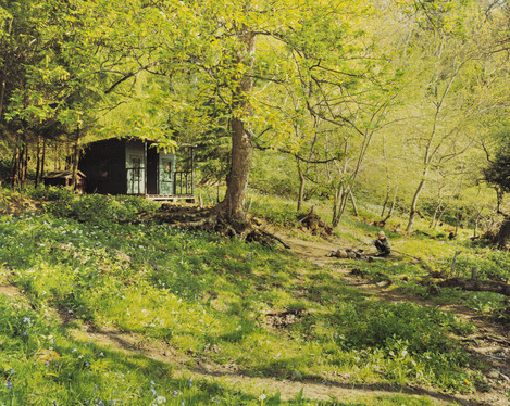 Image 8. Caption: Is this not like the Garden of Eden? Beside the River Tees. Teesdale, County Durham. Harry Cory Wright.