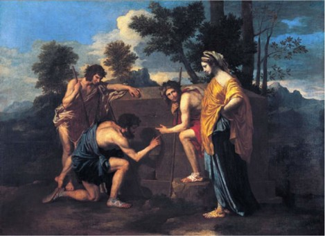 Image 3. Caption : Et In Arcadia Ego, Nicola Poussin, 1637. Arcadia – symbolizing the pure, rural, idyllic life, far from the city.
