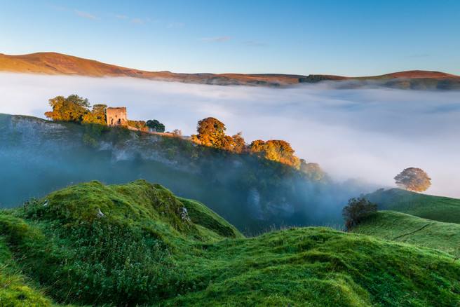 Peak District_Peveril Castle
