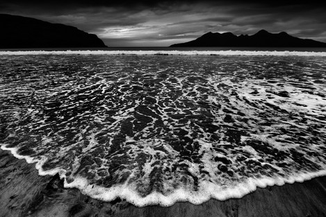 Tide, Laig bay, Isle of Eigg