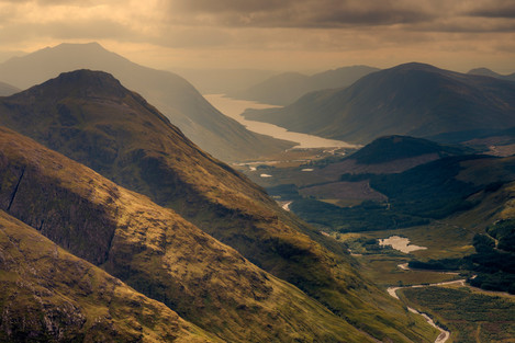 Loch Etive from Stob na Broige