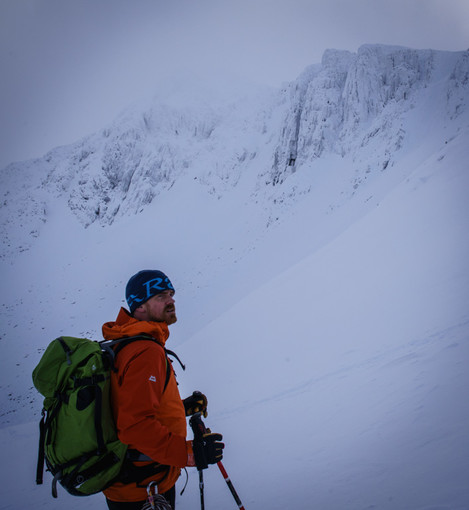 Rich Pyne, Glencoe Mountain Leader and Guide