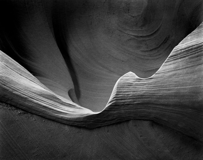 Wall Detail, Waterholes Canyon, Arizona