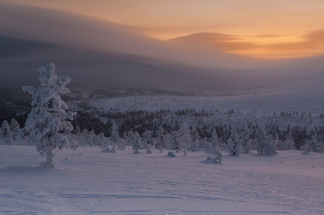 Deep Cold, Finnish Lapland, Inari County