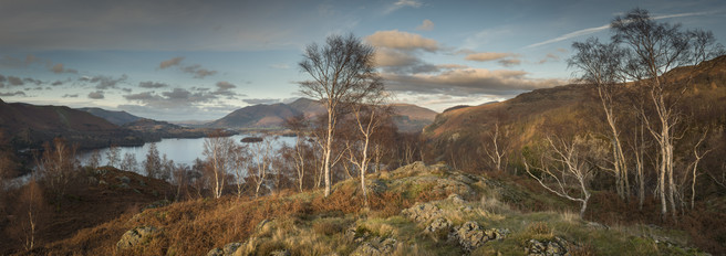 Shepherds Crag Panorama, Shepherds Crag, Lake District, Rob Oliver, website