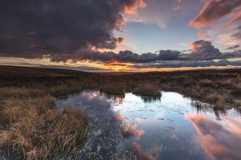 long-mynd-wildmoor-above-pools-dusk-feb-43