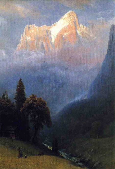 Albert Bierstadt, Storm among the Alps