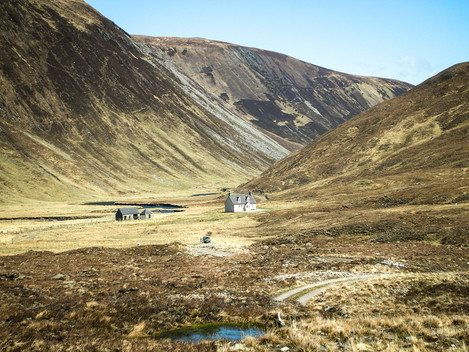 Deanich Lodge on the Alladale Estate