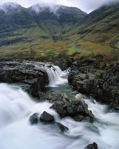 Large format photography - Linne Buidhe, River Coe, 2007