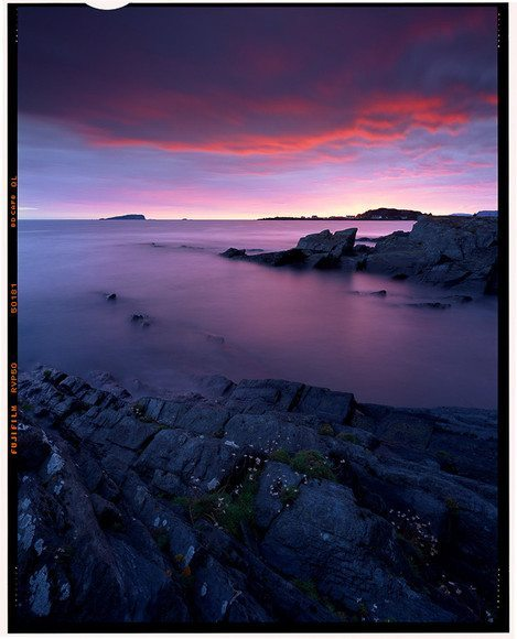 Large format photography - Easdale Sunset, 2007