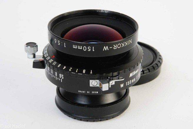 Large format photography - lenses