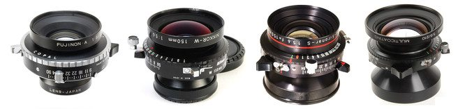 choosing the right Large format photography lenses