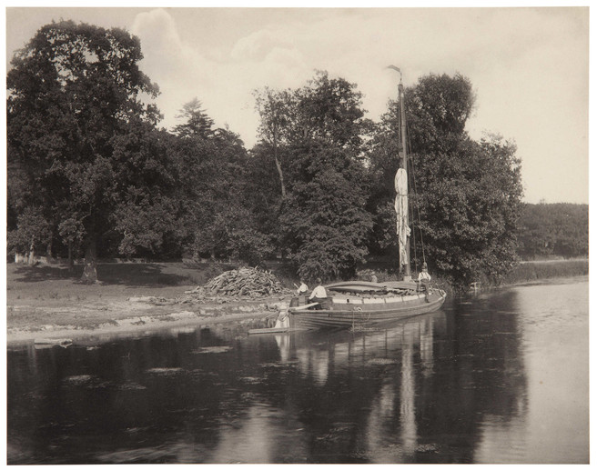 On The River Bure, from Life and Landscape on the Norfolk Broads, 1886_