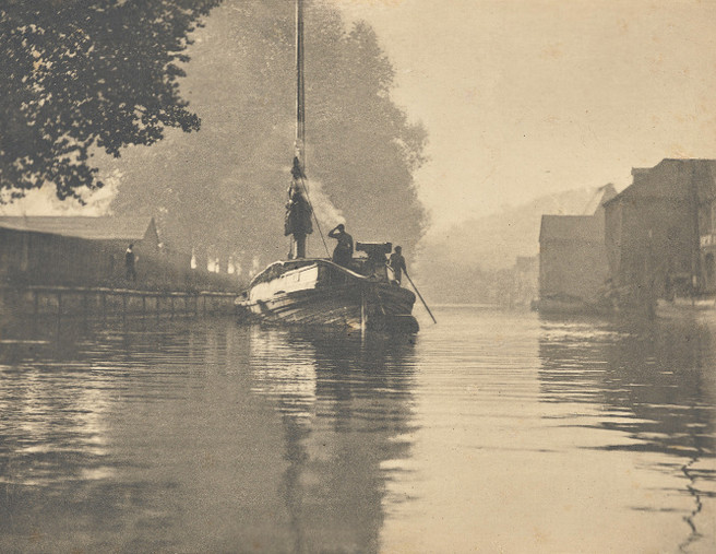 Peter Henry Emerson - A misty morning at Norwich 1893