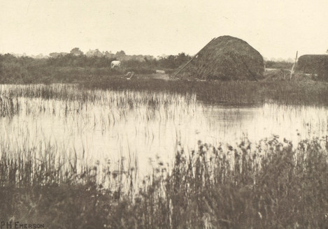 Peter Henry Emerson - Autumn Floods 1887in Field and Fen, 1887