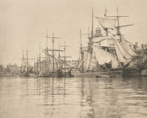 Peter Henry Emerson - Great Yarmouth Harbour 1890