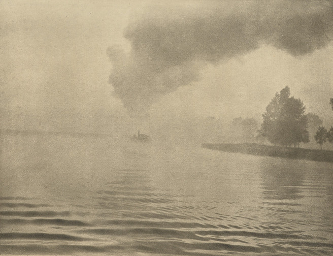 Peter Henry Emerson - The misty river 1895