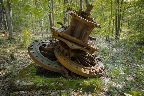 Allegheny Forest - Oil drilling artifact