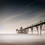 Clevedon Pier. The intention was to produce an attractive image using long exposure
