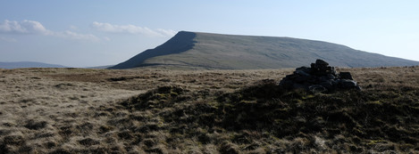 Looking South to the Nab from Little Fell