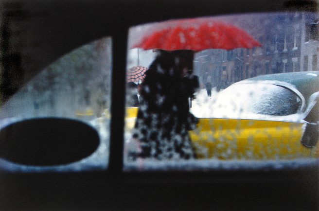 David Ward Saul Leiter Photography The Red List Copy